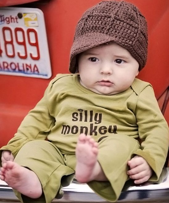 'Silly Monkey' Baby Outfit.