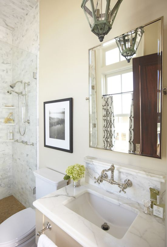 Master Bathroom Design Tips from Urban Grace  Read more - www.stylemepretty...