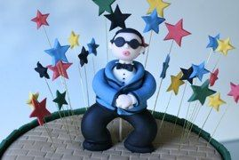 Gangnam Style Cake