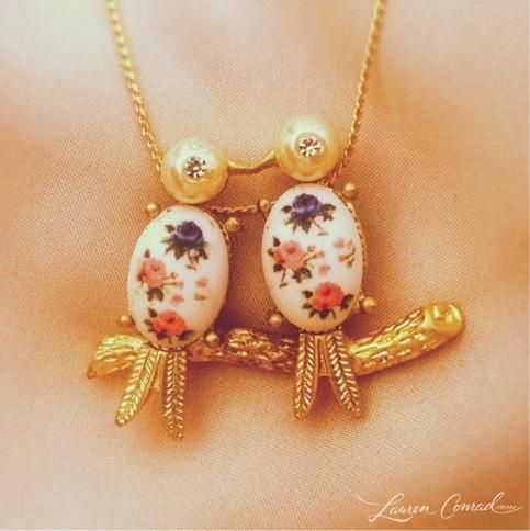 cute little lovebirds from the LC Lauren Conrad collection