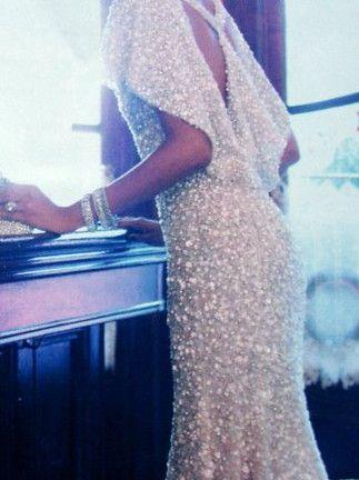 Love this as an idea for a wedding dress