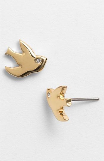 MARC BY MARC JACOBS 'Oiseau d'Amour - Flight' Bird Stud Earrings