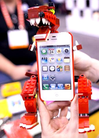 Very cool T-Rex iPhone case!