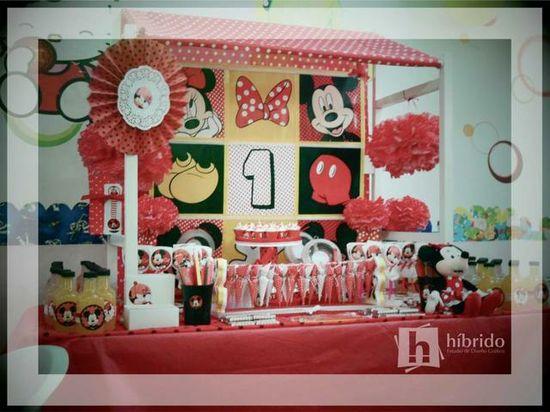 Mickey and Minnie Party #mickeyminnie #party