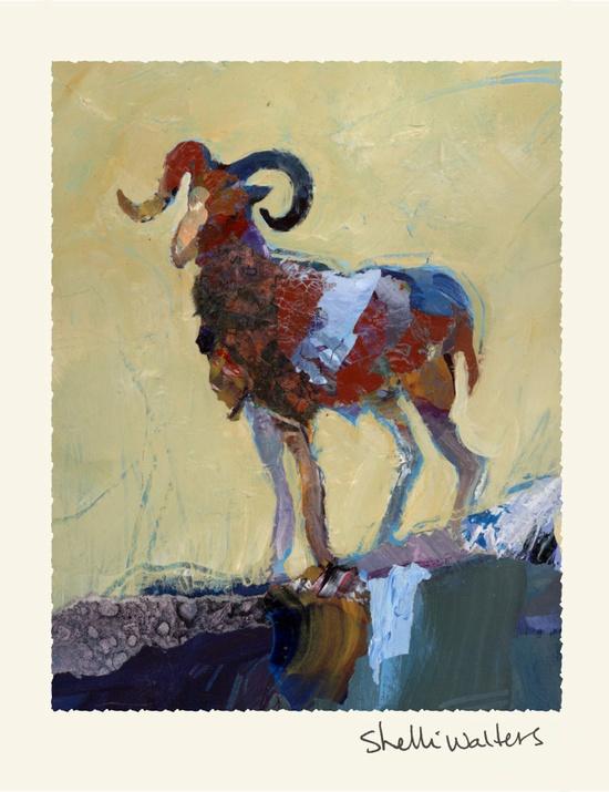 Bighorn Sheep by Shelli Walters