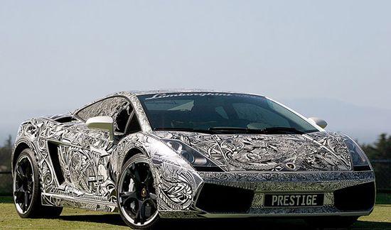 Graphite Lamborghini – WOW !