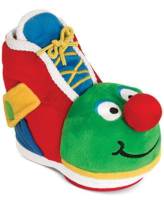 Melissa and Doug Kids' Learning Shoe Stuffed Toy - Kids Toys & Games - Macy's