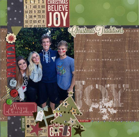 Christmas Traditions - Scrapbook.com