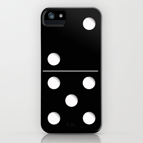 domino iphone case.