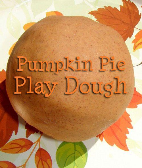 Pumpkin Pie Play Dough