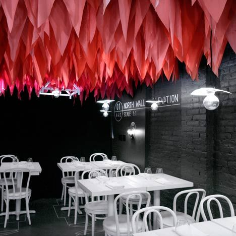 New York restaurant.