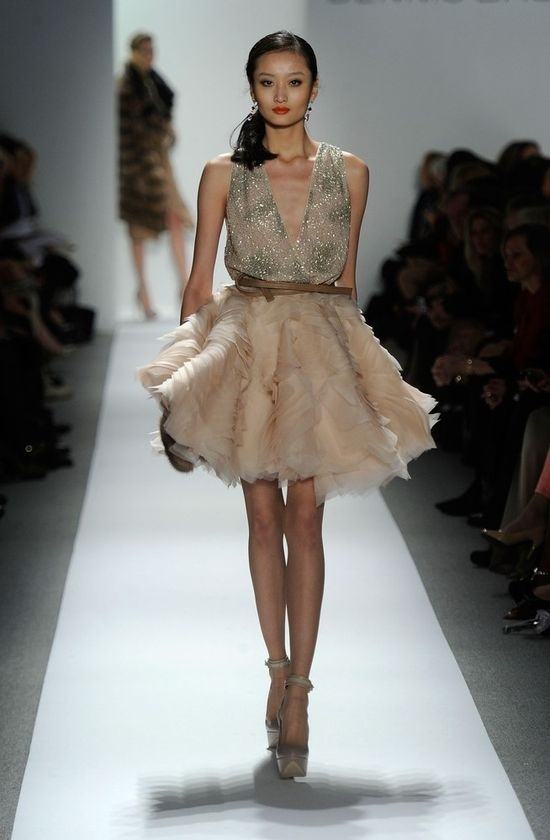 New York Fashion Week 2012. I absolutely love this!