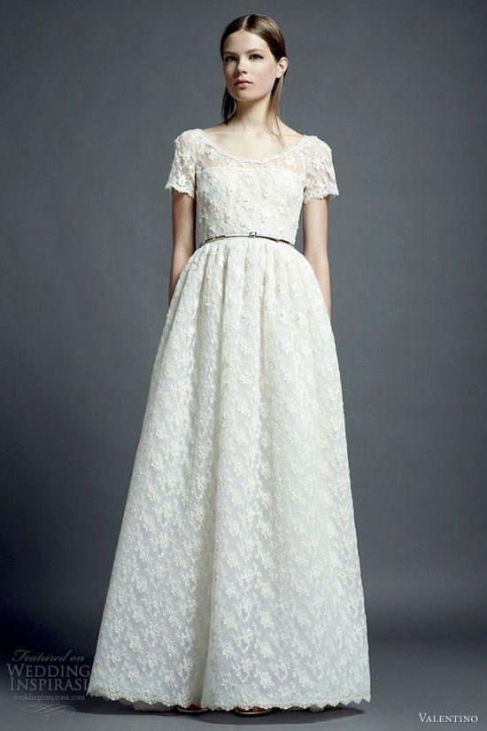 #wedding #dress #sleeves #modest