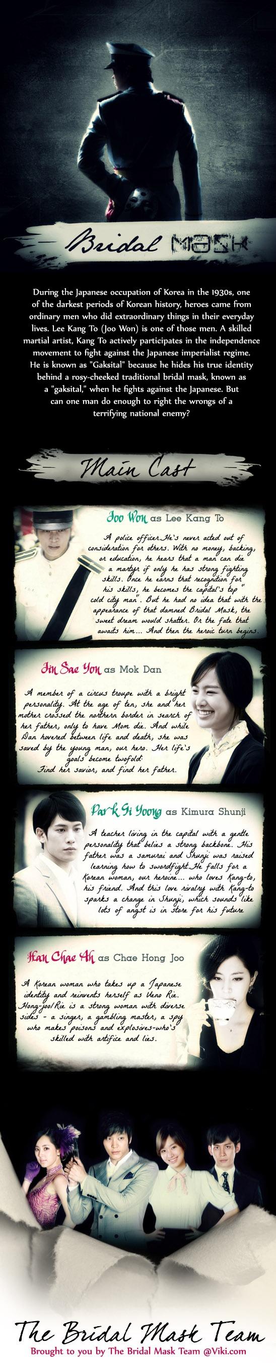 Korean - Bridal Mask Such an awesome drama!
