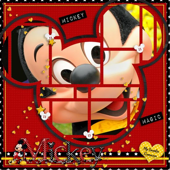 mickey pages