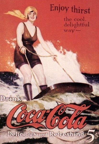 Vintage Cola Advertisement