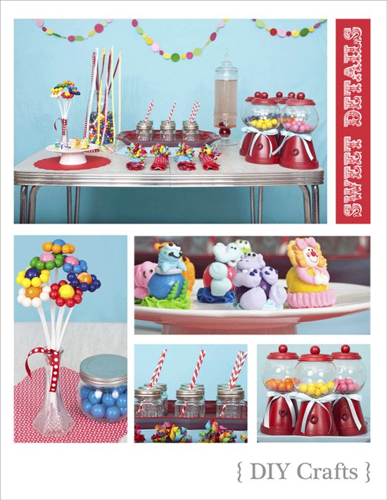 Gumball birthday party ideas