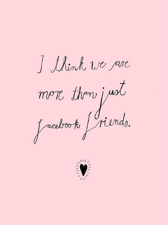 more than just facebook friends // print  by #best friend memories #best friend memory #best friend