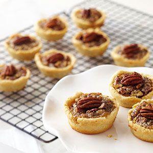 Mini Maple Pecan Pies....Diabetic Friendly