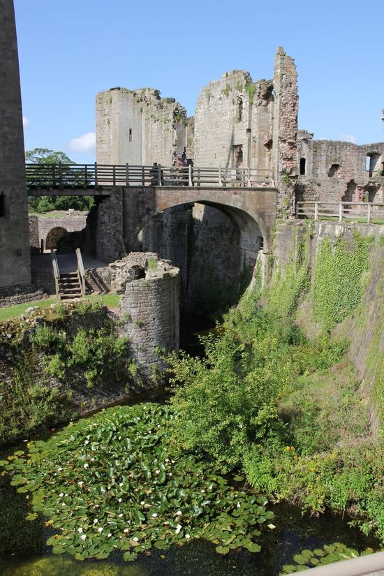 Raglan Castle, Wales.