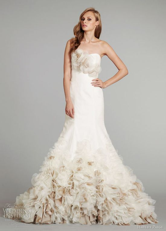 hayley paige bridal fall 2012 babs wedding dress