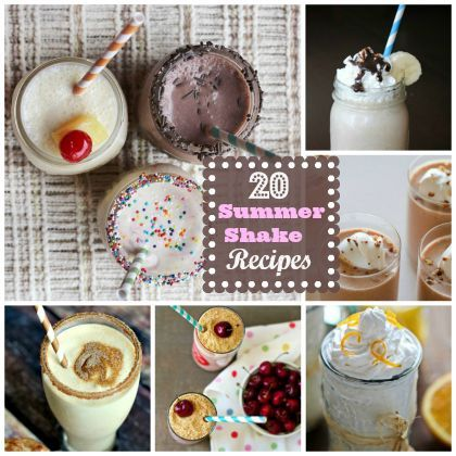 Cool Off  : 20 Summer Shake Recipes