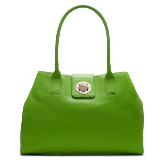 Chrystie Street Large Anisha by Kate Spade: KS does green very, very well. #Handbag #Kate_Spade