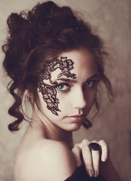 face tattoo    #tattoo  #girls #fashion  www.loveitsomuch.com