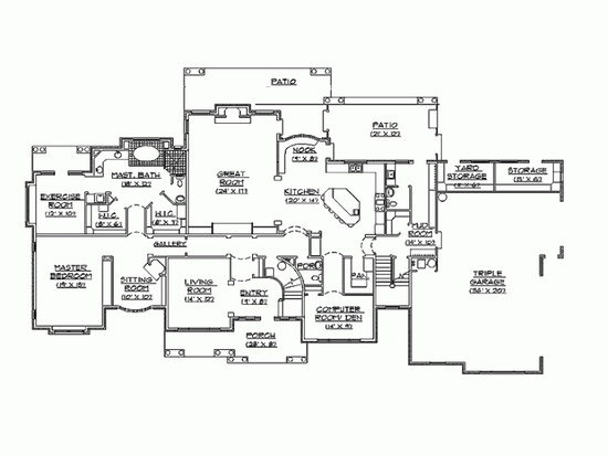 Best house plan ever!!!!  I know really want to win the lottery