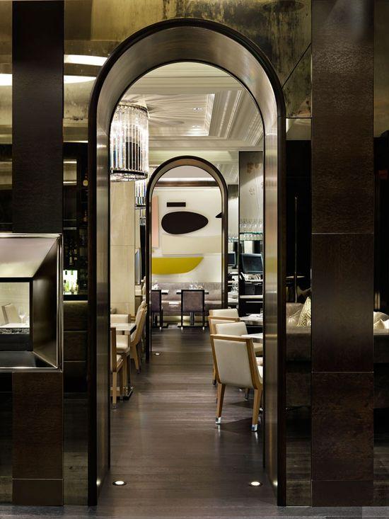 Hawksworth Restaurant, Vancouver. Interior design by Munge Leung.