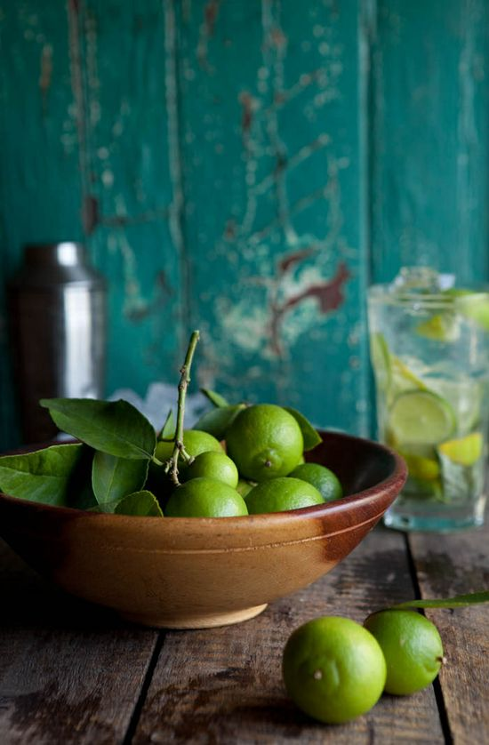 Fresh healthy eating limes
