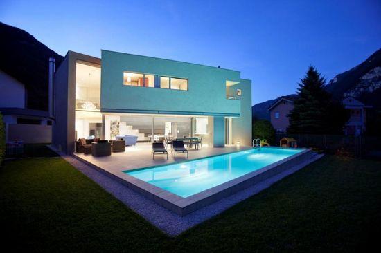 Riva San Vitale House / Gianluca Martinelli Architetto - #architecture #modern #home #house #design #minimalist