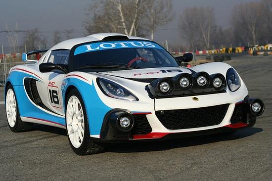 Lotus Exige R-GT Rally Car Photos