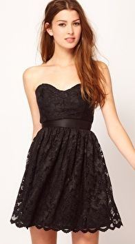 sweetheart style party dress!