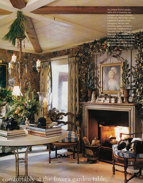 #Charles Faudree Christmas - Hydrangea Hill Cottage