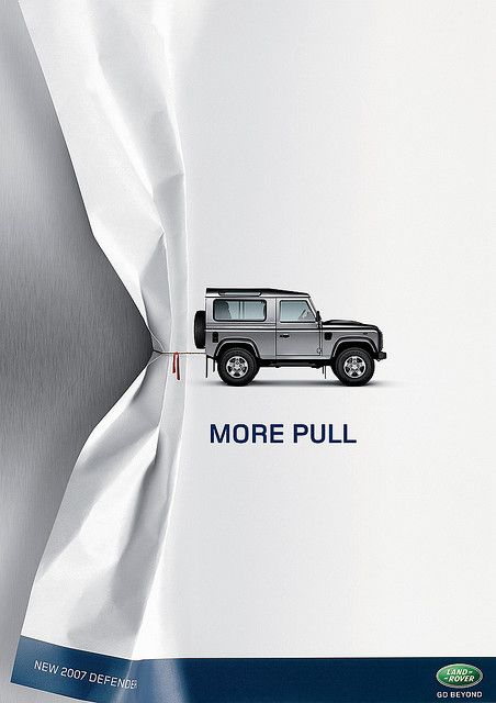 Land Rover Ad...love this!