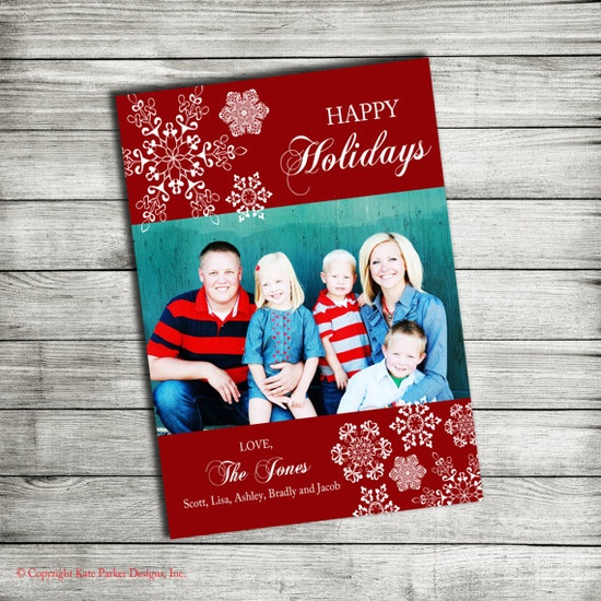 Custom Holiday Photo Cards!