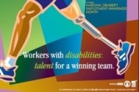 National Disability Employment Month Poster