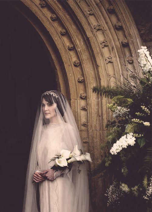 downton abbey mary the bride