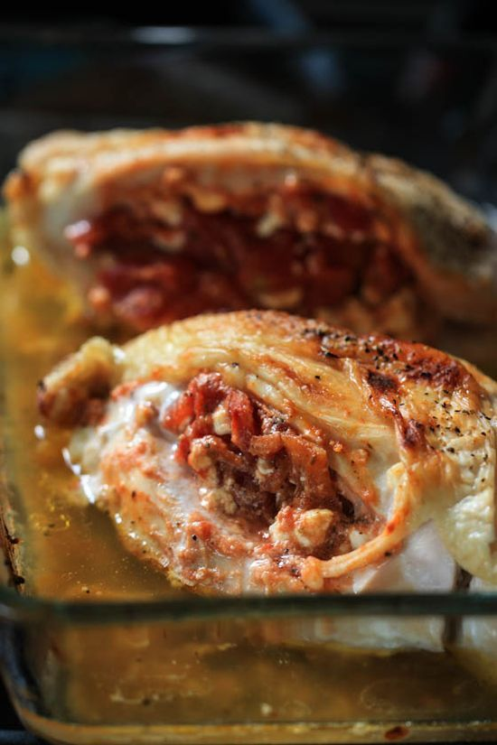 Tomato & Feta Stuffed Chicken #better health naturally #better health solutions #organic health