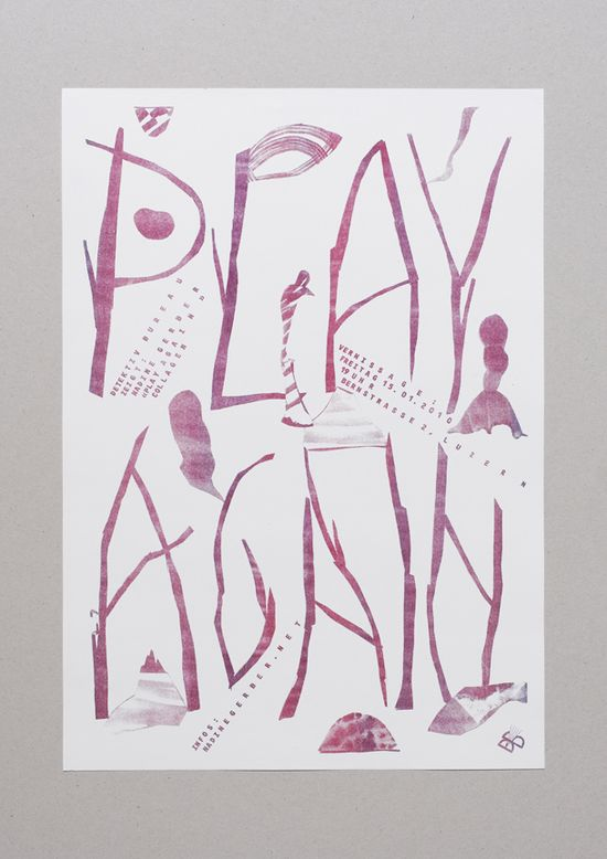 #typography #collage #mixedmedia #graphic #design #poster #Daniel #Peter