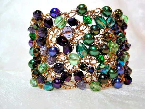 Wire crochet - inspiration