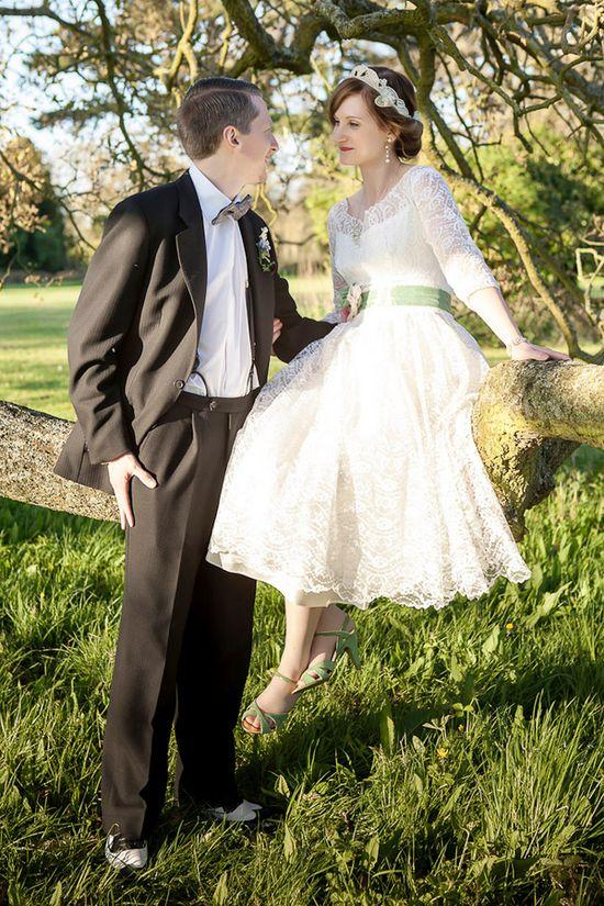 Offbeat Vintage Wedding