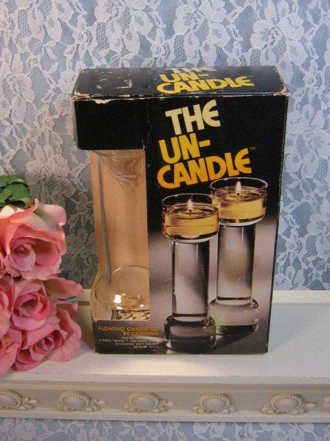 70's Corning Un-Candle
