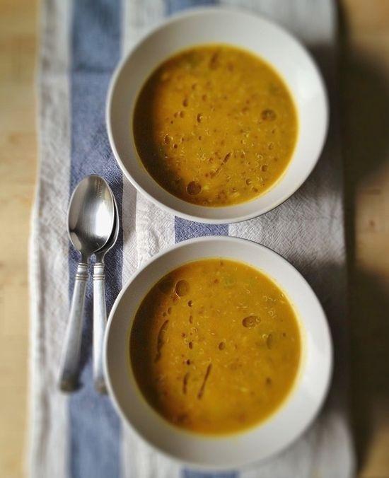 Butternut Squash + Red Quinoa Curry Stew