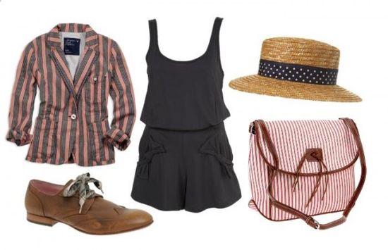 Blazer- American Eagle, Shoes- ASOS, Hat- Miss Selfridge, Bag- Urban Outfitters