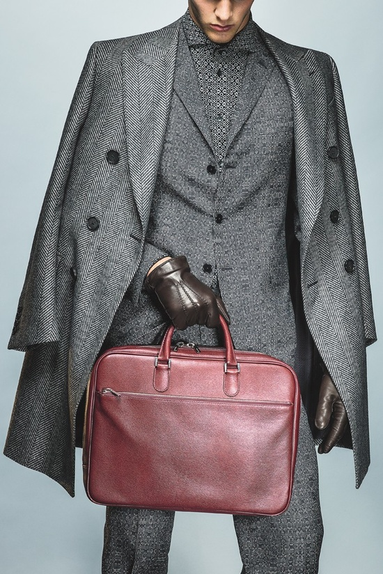 Mens Wear Accessories Trend: there's a lot of gray out for Fall 2013. #Aim2Win  #Success