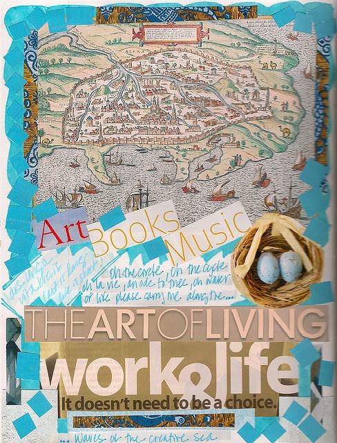 shauna lee lange's the art of living collage