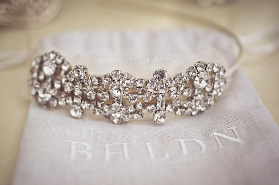 Perfect for the short-hair bride.... Beautiful headband from @BHLDN ! Photography by michelebeckwith.com