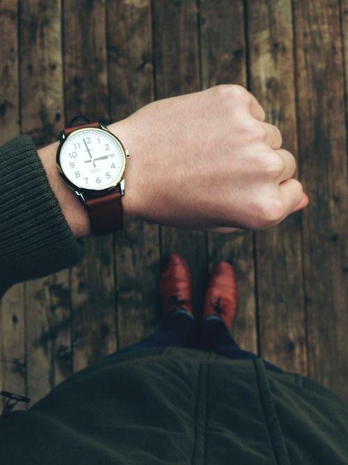 Timex Easy Reader Watch – Indiglo WR 30M